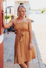 LUXE Nothing Better Than Now Midi Dress