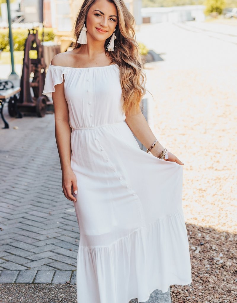 LUXE Love At First Sight Midi Dress