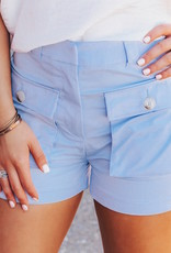 LUXE Light Hearted Fun Pocket Shorts