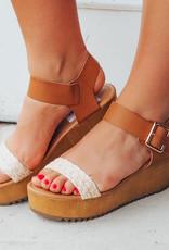 LUXE Make The Scene Platform Sandal