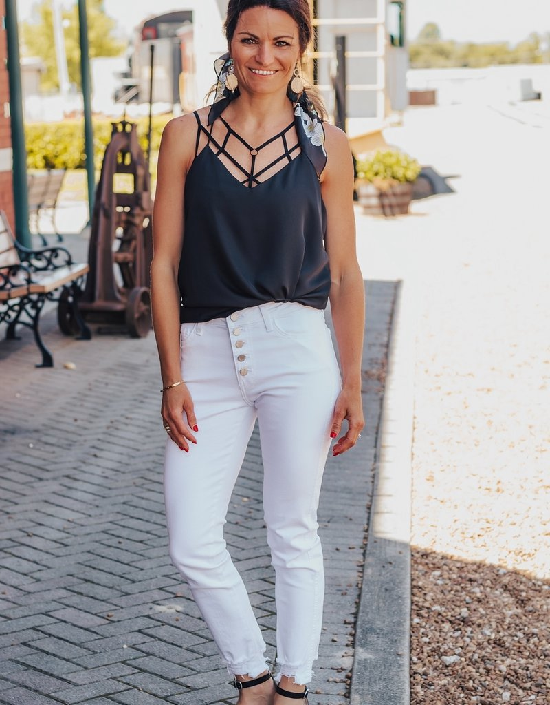 LUXE Call You Back Classic Tank Top