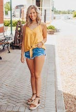LUXE Breezy Days Ruffle Shorts