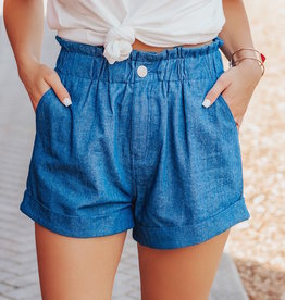 LUXE Brand New Mood Ruffle Shorts
