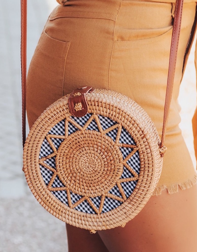 LUXE Chill Afternoon Circle Bag