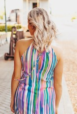 LUXE Your True Colors Striped Maxi
