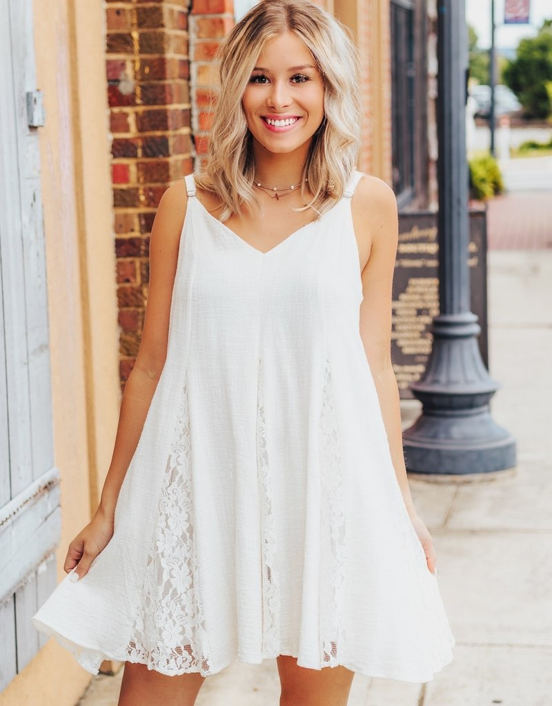 LUXE My Fair Lady Lace Dress