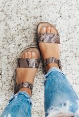 CHINESE LAUNDRY Palms Snakeskin Platform Sandal