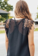 LUXE Simplistic Dreams Lace Blouse