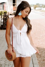LUXE Tied Up In Love Romper