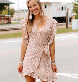 LUXE Middle Of The Memory Floral Dress