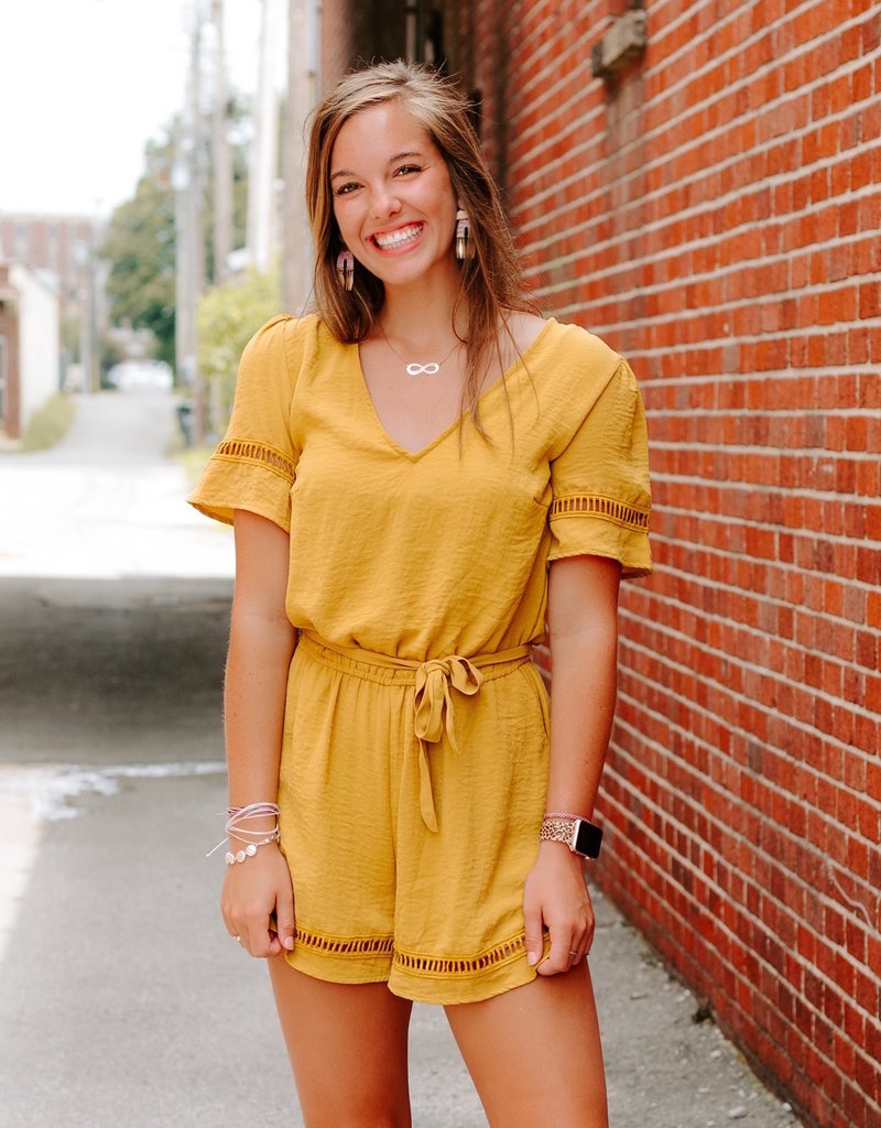 LUXE Savor This Moment Romper