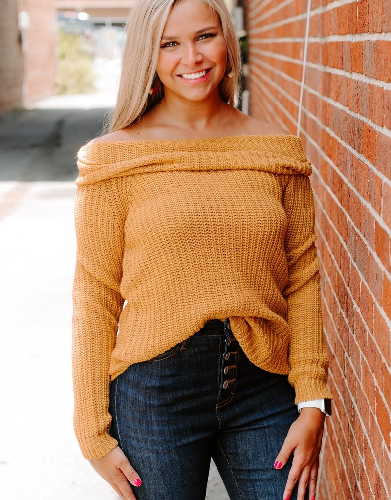 LUXE Searching For You Chunky Sweater