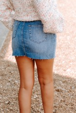 LUXE Everywhere You Go Denim Skirt