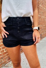 JUST BLACK When You're With Me Shorts