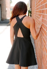 LAYNEE & LEE Skater Girl Black Dress