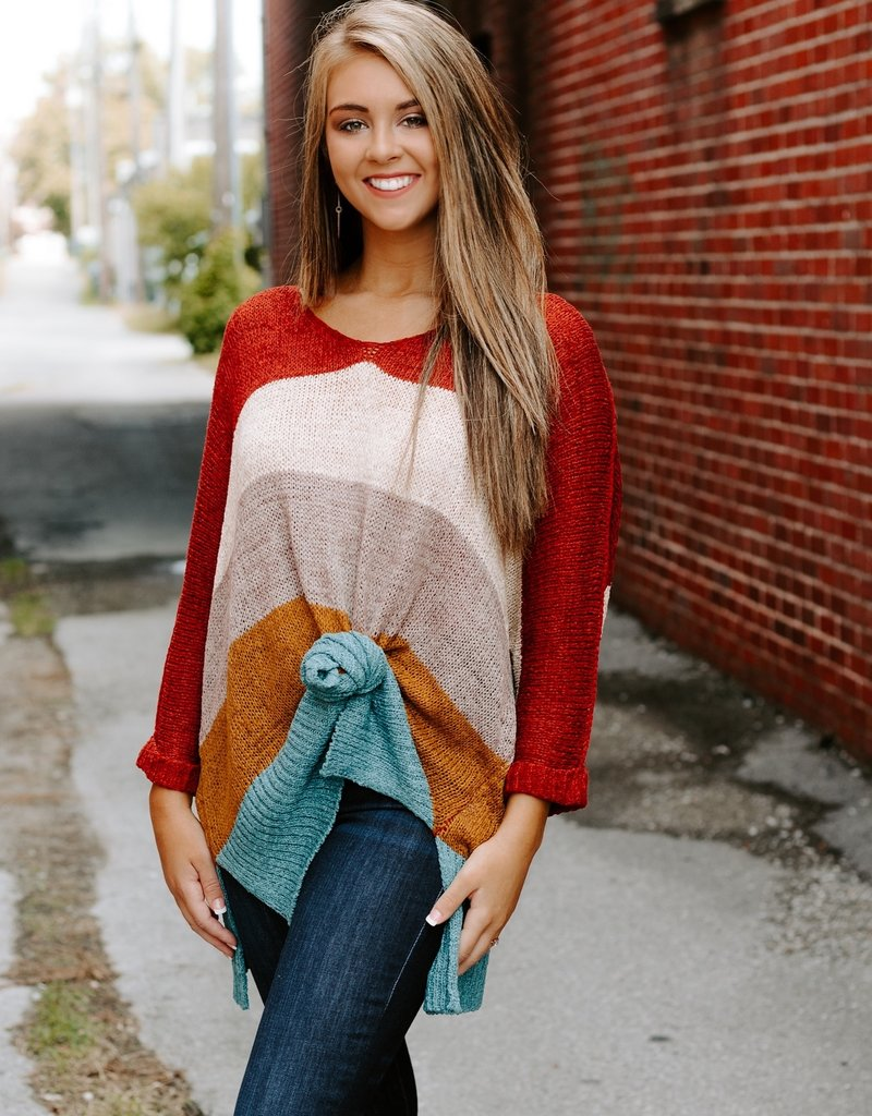 LUXE Pumpkin Spice Sweater
