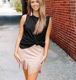 LUXE Favorite Fringe Skirt