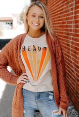 LUXE Your Love for Me Orange Cardigan