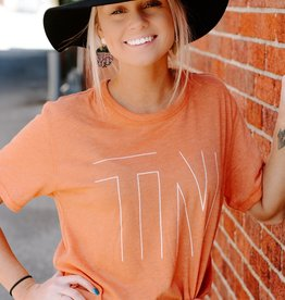 LUXE Big Orange TN Graphic Tee
