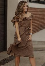 LUXE Flirty + Fierce Animal Print Dress