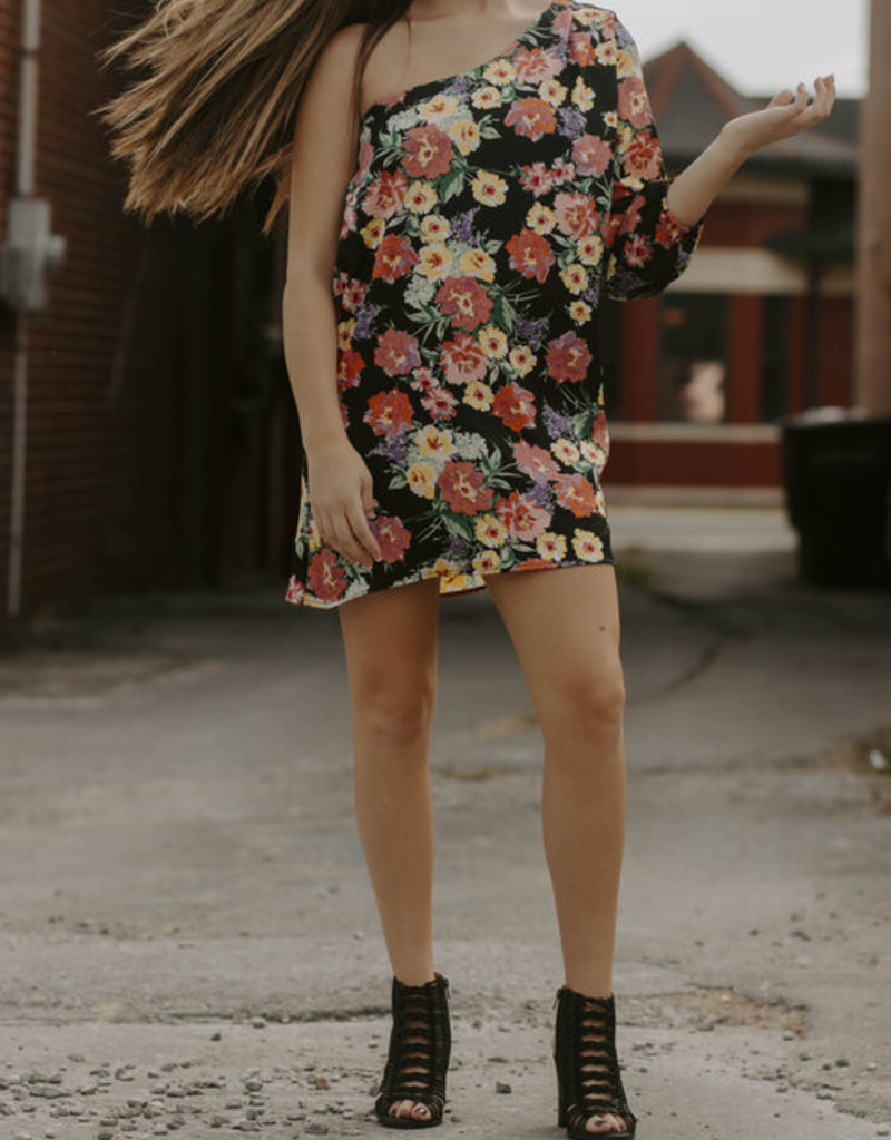 LUXE Love On My Mind Floral Dress