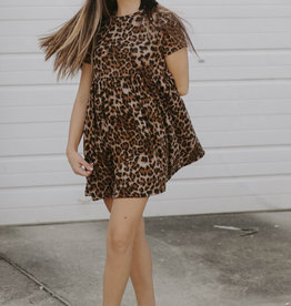 LUXE Ahead of Time Babydoll Dress