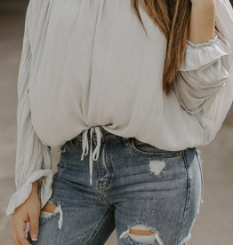 LUXE Honest With My Heart Blouse