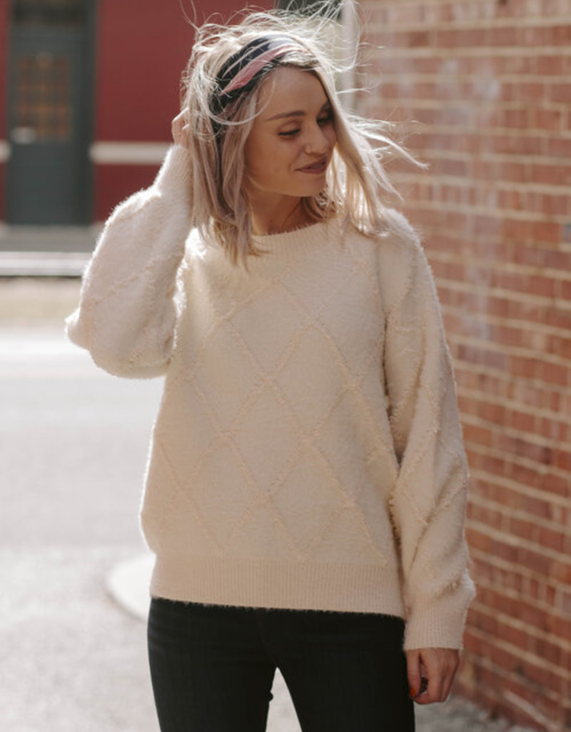 LUXE Forever In Love Sweater