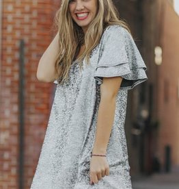Promised You My Heart Sequin Dress