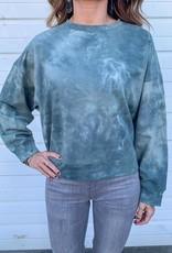 LUXE Take The Time Tie Dye Sweatshirt