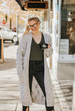 LUXE Cozy Cable Cardigan