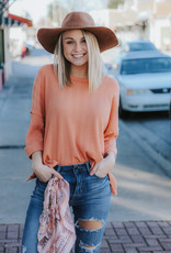 LUXE Perfect Peach Shirt