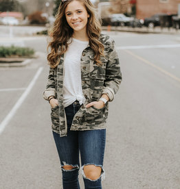 LUXE Crazy for Camo Jacket