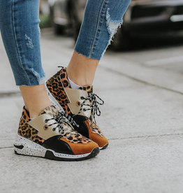 LUXE Cheetah Sneakers