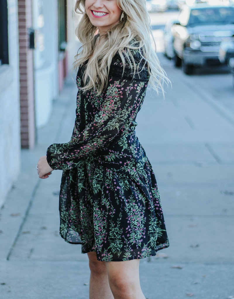 LUXE Edge Of The Season Floral Dress