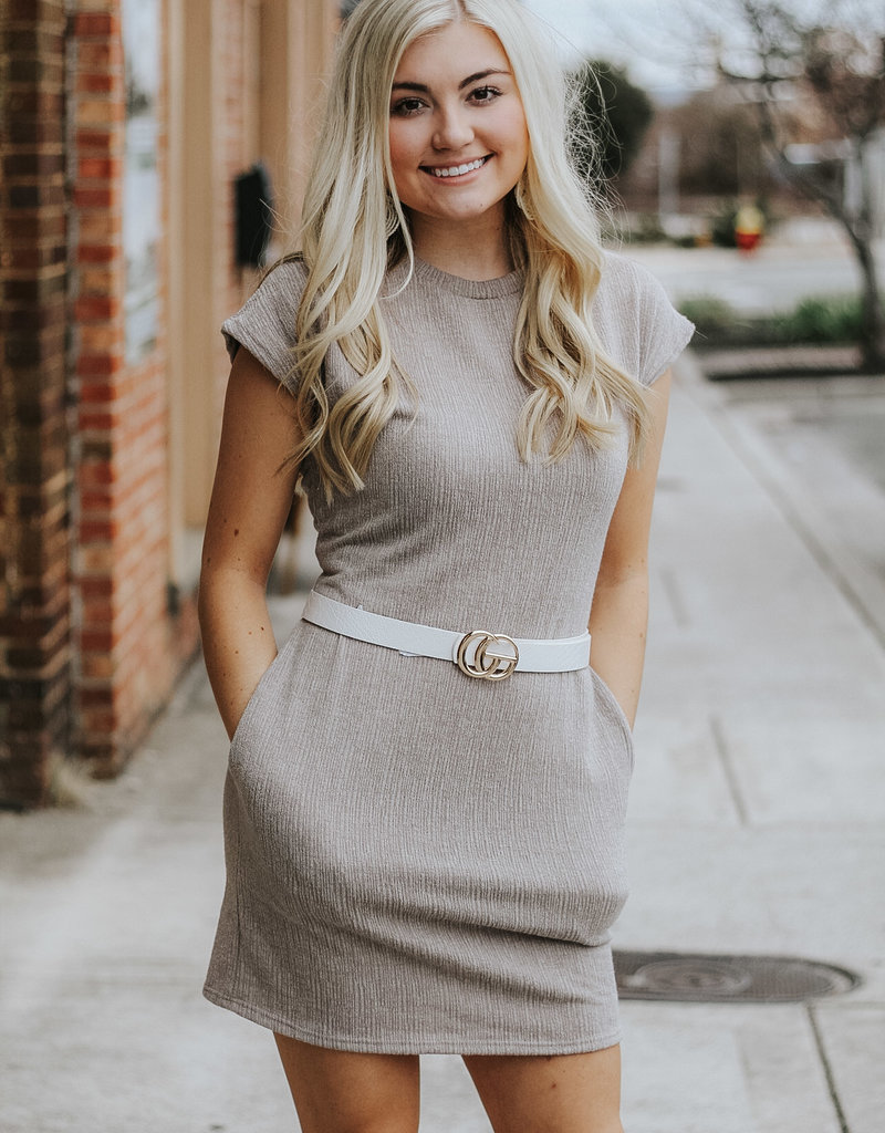 LUXE Cute and Casual Pocket Dress