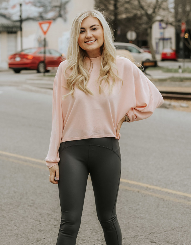LUXE In Motion High Waisted Grey Leggings