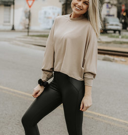 LUXE In Motion High Waisted Black Leggings