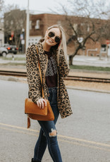 LUXE Uncover My Love Animal Print Utility Jacket