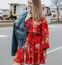 LUXE Flirty and Floral Dress