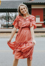LUXE Ready to Ruffle Dress