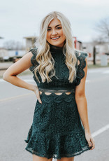 LUXE Lost in Love Lace Dress