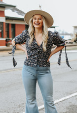 LUXE No Heartache Here Floral Top