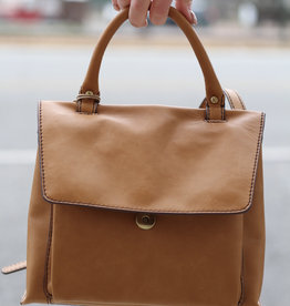 HOBO Meter Brown Crossbody