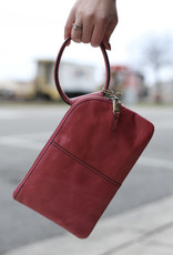 HOBO Sable Pink Leather Clutch