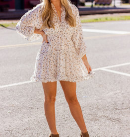 LUXE Enchanted Floral Dress