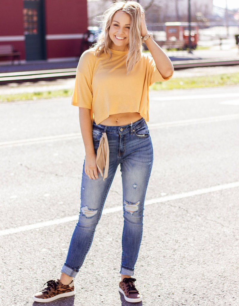 LUXE Wild and Free Crop Top