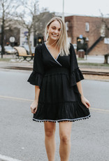 LUXE Everything You Want Black Dress