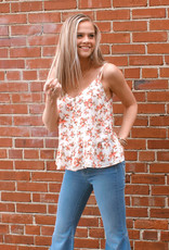 LUXE Favorite Charm Floral Tank