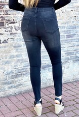 LUXE  ARIANA HIGH RISE BLACK SKINNY